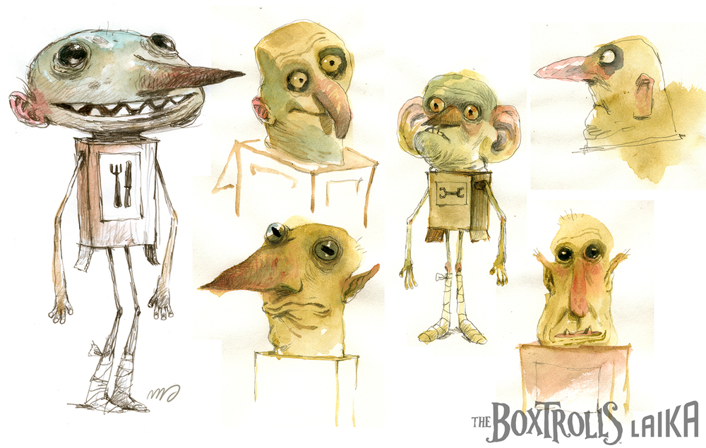 Very early Boxtrolls exploration.