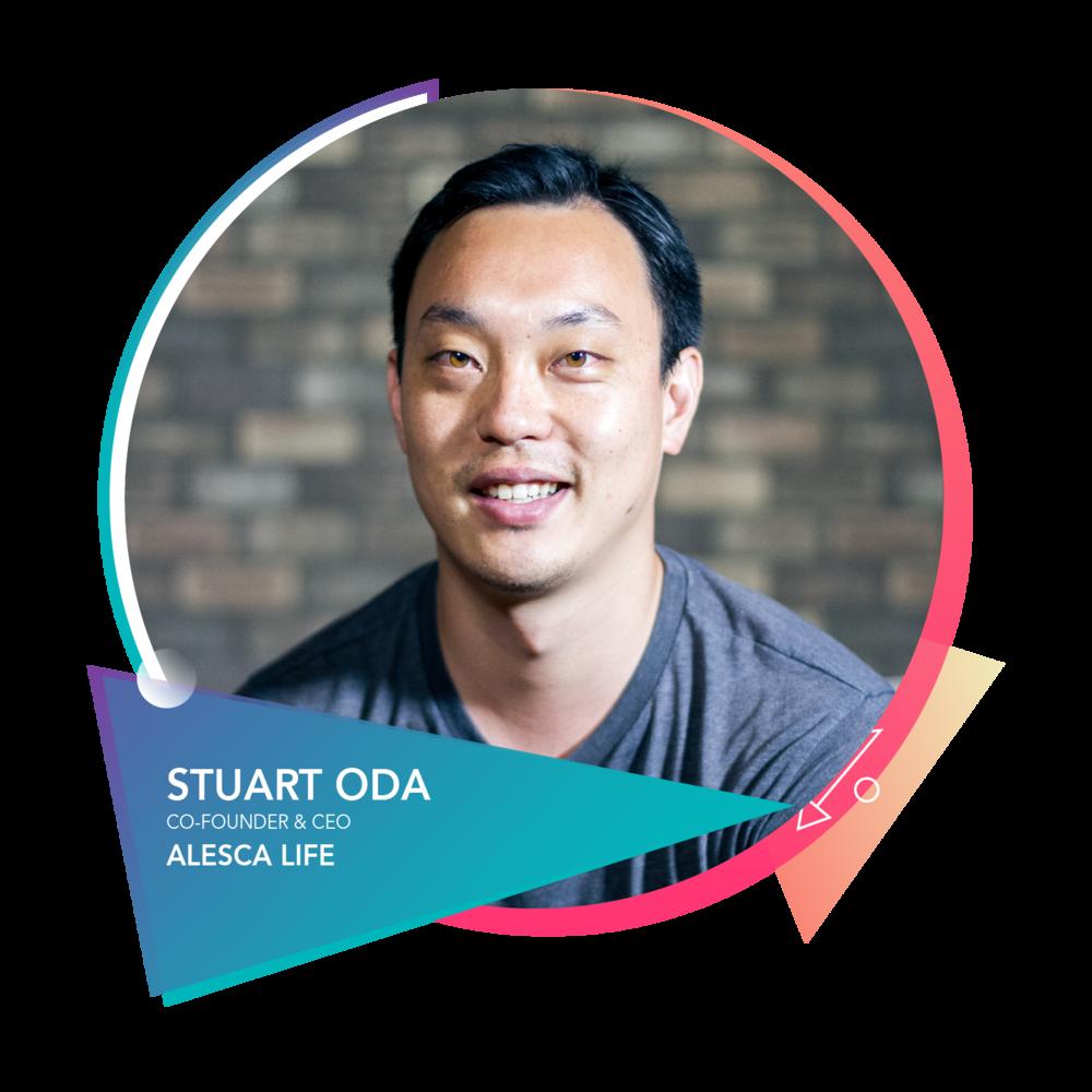 Stuart Oda - Alesca Life 联合创始人兼 CEOAlesca Life