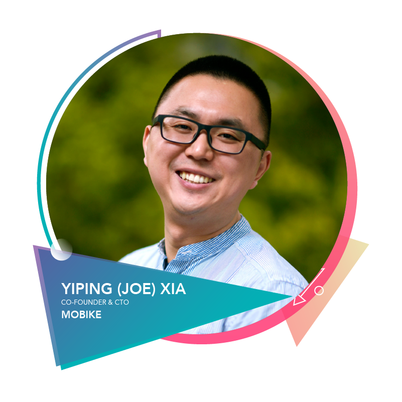 Yiping (Joe) Xia  - Co-Founder & CTOMobike