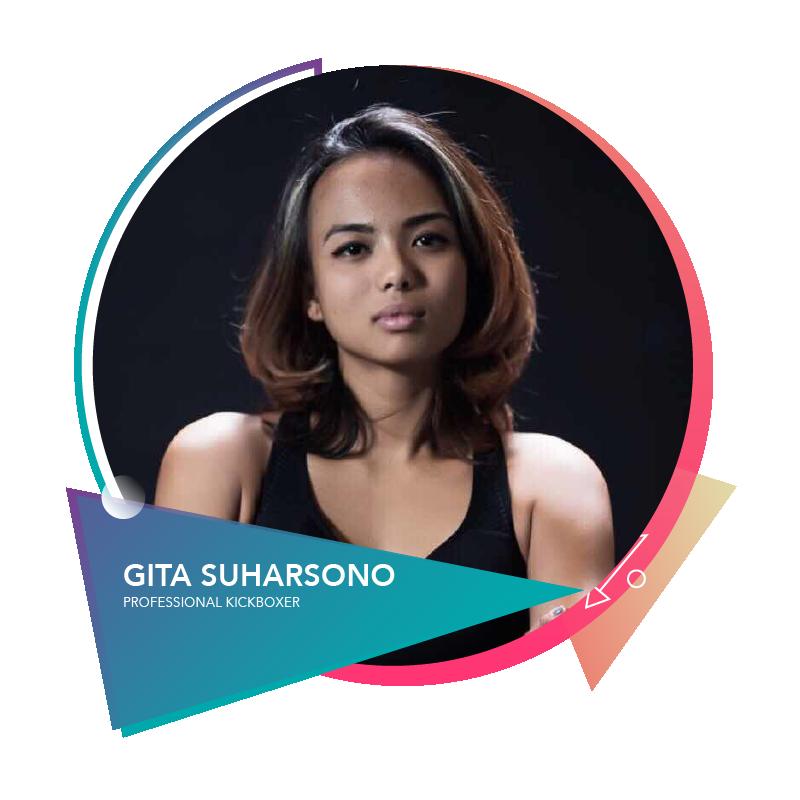 Gita Suharsono - Professional Kickboxer