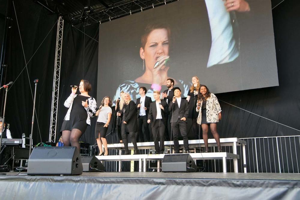 Gunnertoft Gospel Singers.