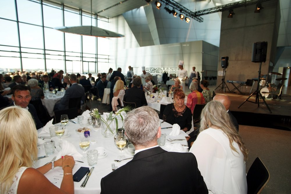 "Gala Dinner, July 3 - At 7 PM on July 3 the RNPS is hosting a Gala Dinner in Musikkens Hus"" in Aalborg."