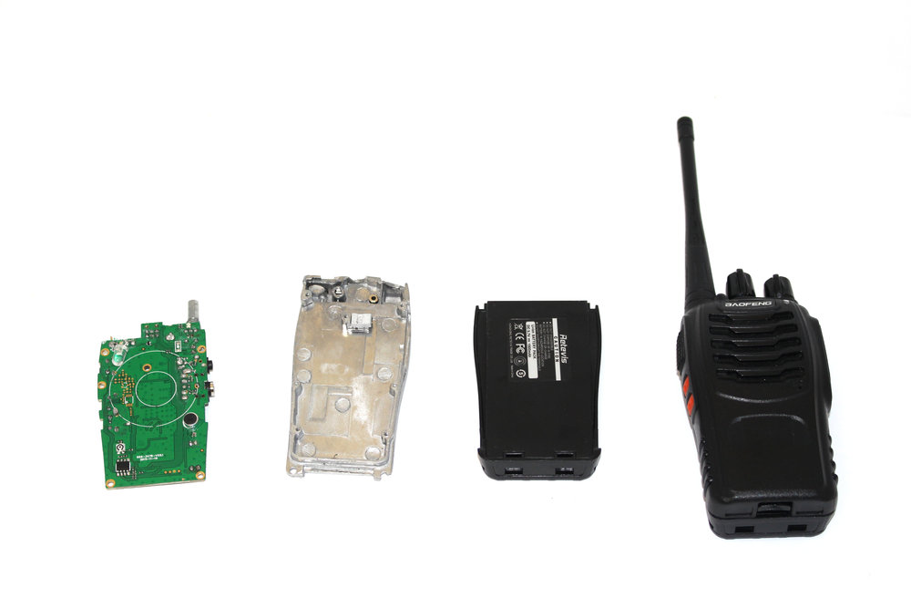 Disassembled Walkie Talkie
