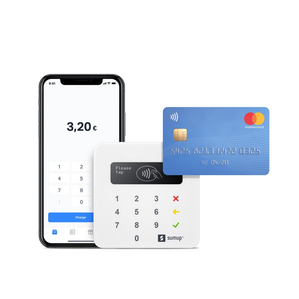 ➔ prezzo dispositivo €19 - SumUp