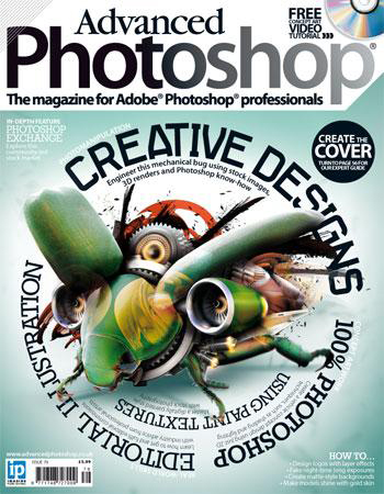 Advanced Photoshop Magazine  - Artwork featured in artist showcase -  Check it out