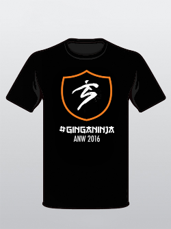 Limited Edition ANW8 Ginga Ninja Shirt!