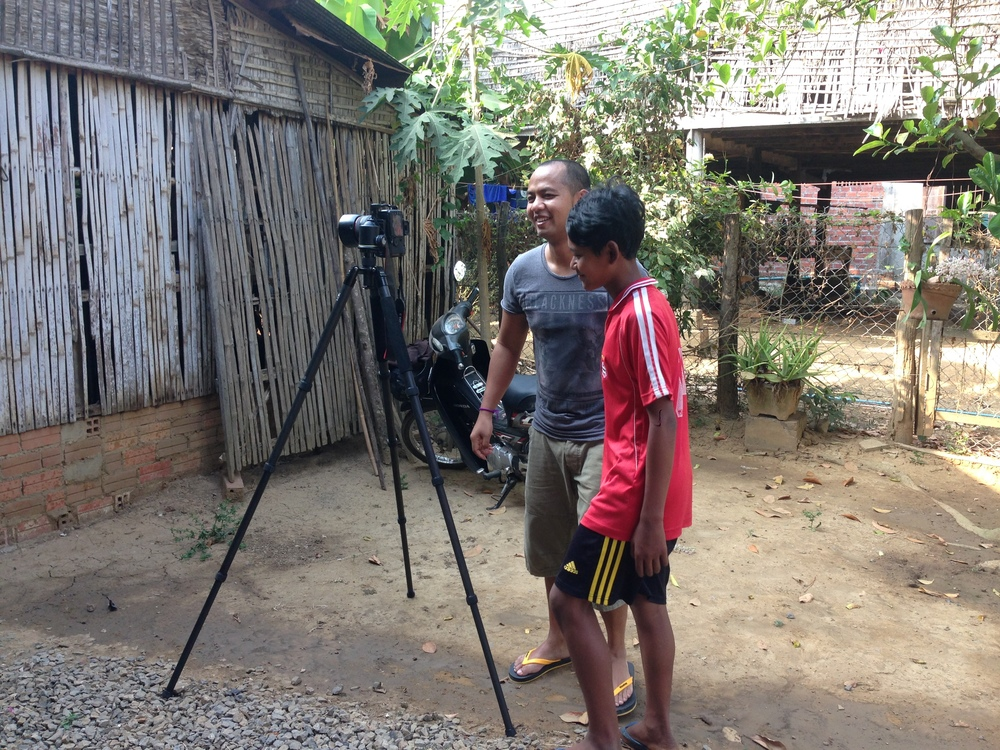 #wordwidefamilyportrait in Battambang, Cambodia
