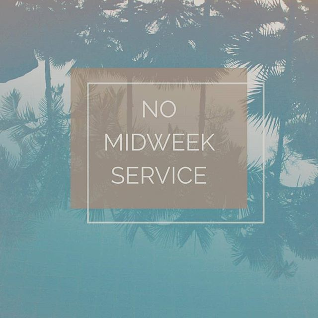 There will be no midweek service this Wednesday. Join us Friday night for the Community Good Friday service at 6:30PM and Sunday morning at 10AM!