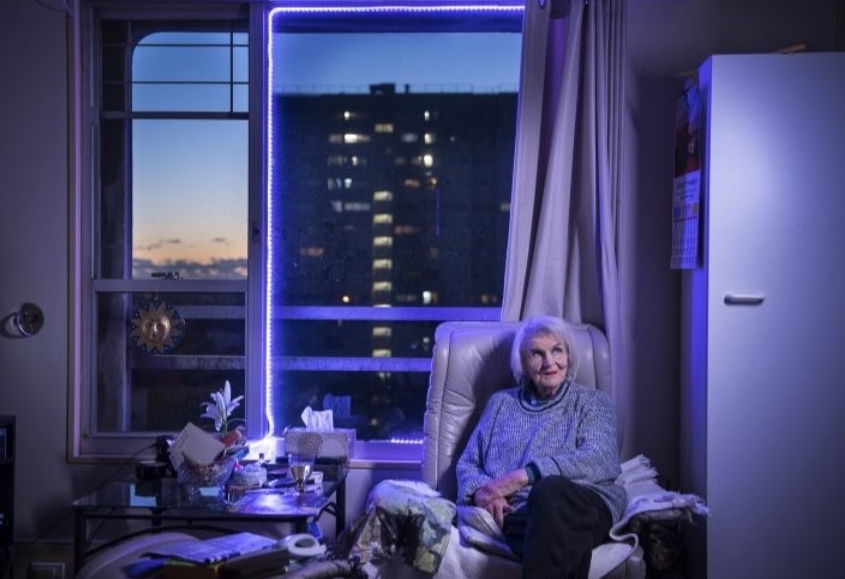 Hyperallergic In Protest of Gentrification, Sydney Residents Turn Towers into Light Displays - Residents at a 1970s public housing estate in Sydney are fighting gentrification in a simple yet striking display that asserts the presence of their community to the entire city. Every night, hundreds of residents living in soaring towers at the Waterloo estate are turning on colorful lights in their windows to illuminate the buildings. more