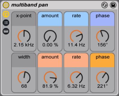 multiband pan ableton live