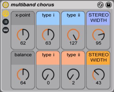 multiband chorus ableton live