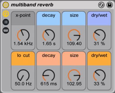 multiband reverb