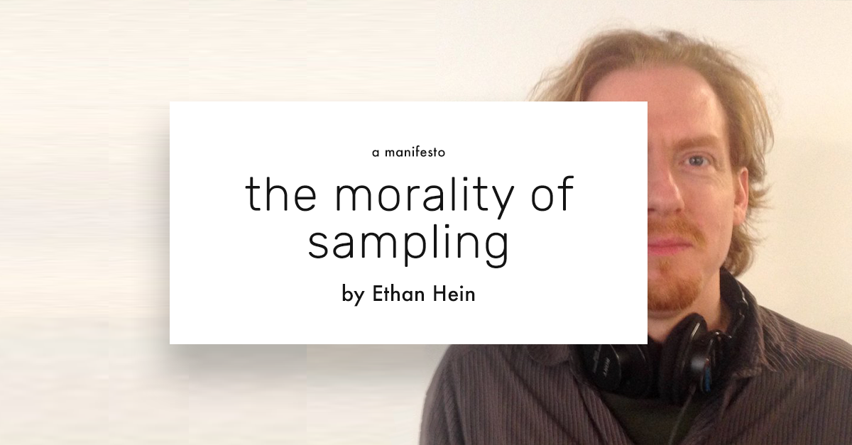 https://patches.zone/sampling-ethan-hein/