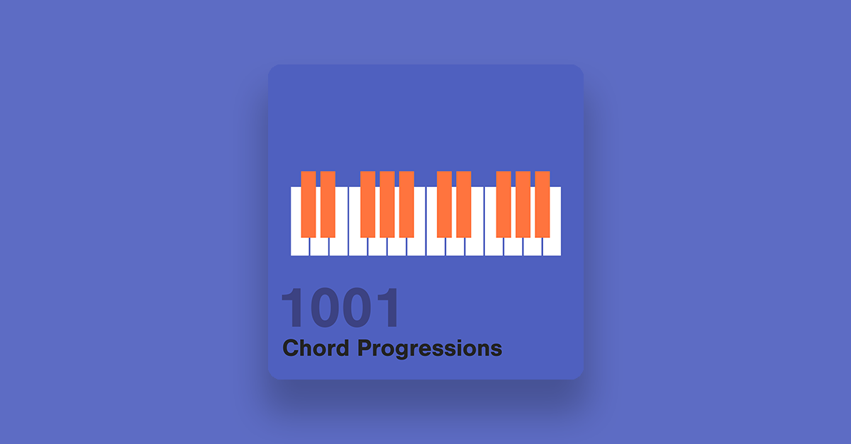 1001 Chord Progressions — pATCHES