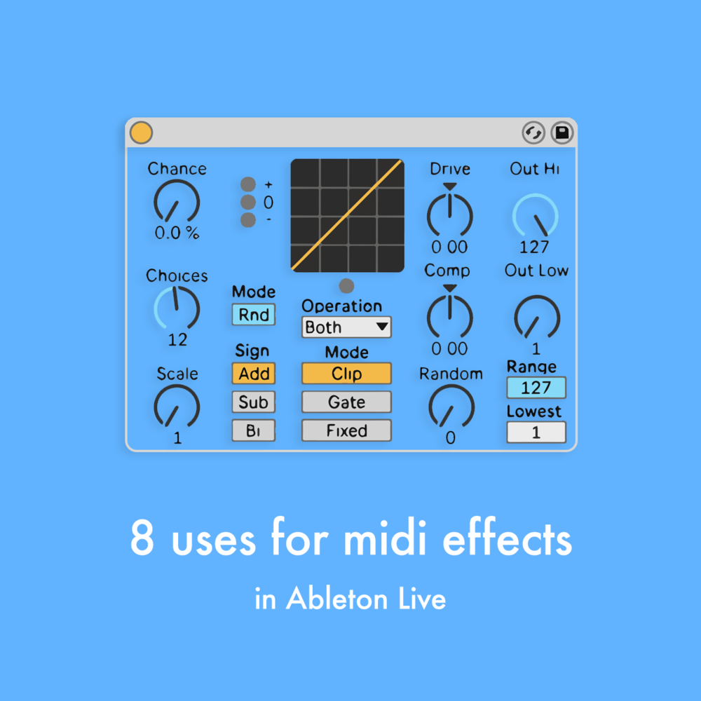 8 uses for midi devices in ableton live — pATCHES