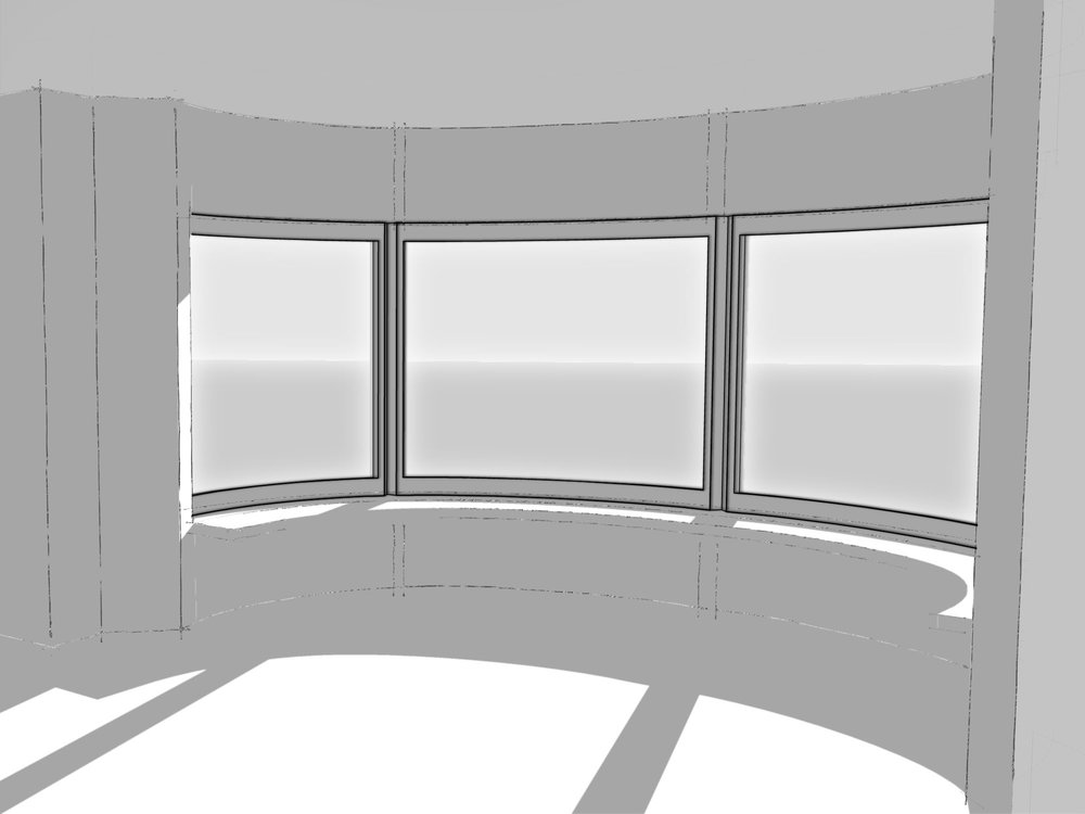 curved window blinds vertical curved window blinds grand design