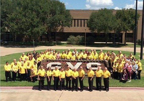 CRM Volunteers at Advanced Training on August 6, 2016 at Cedar Valley College