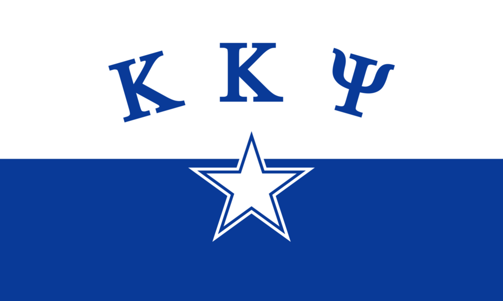 The official Kappa Kappa Psi fraternity flag.