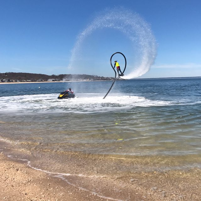 First show of 2017. Thank you @seanray_proflyboarder for always helping. It's never to early to book your private flyboard shows❗️ 📧Inquire at flyboardhamptons@gmail.com 💦 💦 💦  #flyboardshow #montauk  #newyork  #newyorkcity #i❤️nyc  #nyc  #suffolkcounty #longisland  #hamptons  #hamptonslife  #sagaponack  #easthampton  #hamptonbays #manhattan #queens #brooklyn  #statenisland  #thehamptons #duneroad  #eastmoriches  #westhampton  #southampton  #flyboard