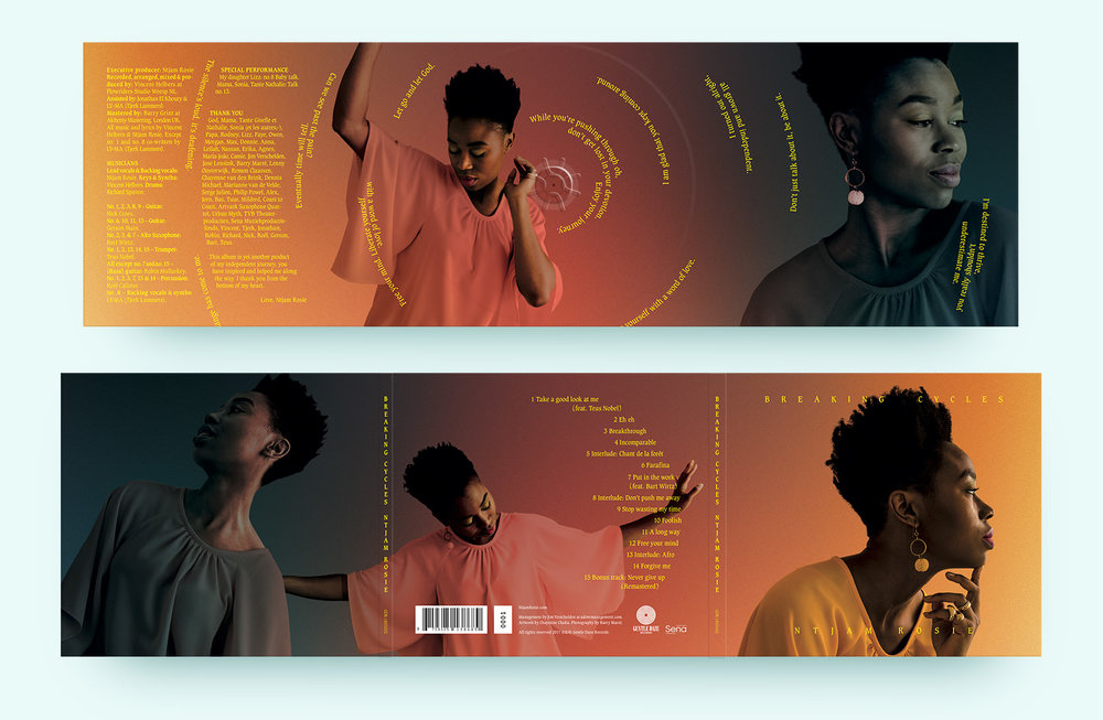 Front and back album cover.