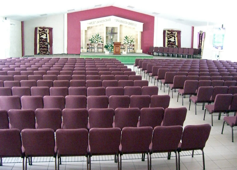 sillas para iglesias aguada pr