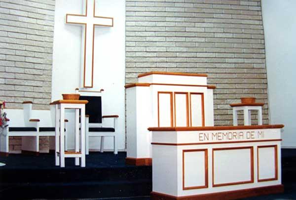 Set de Muebles de Altar