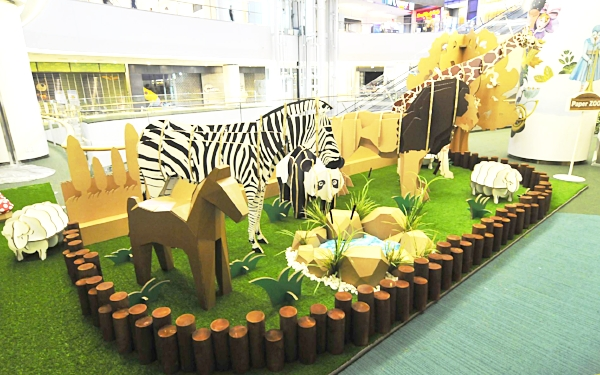 Event & Promotion. Paper Zoo, Lotte Mall