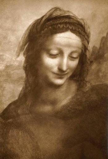 Leonardo da Vinci underpainting