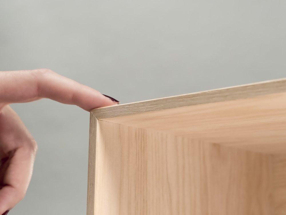 Threespine - thin miter join wood cube.jpg