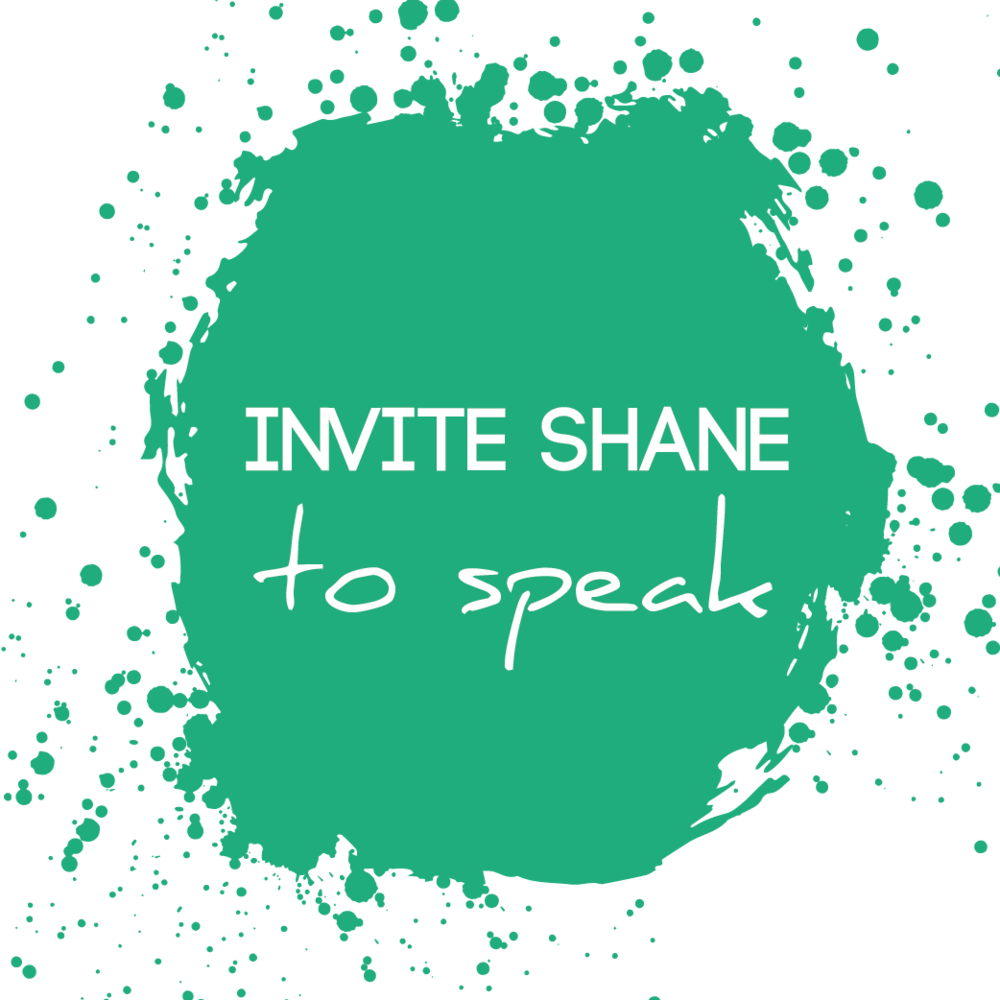 Click to Invite Shane to speak