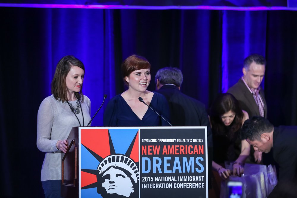 New American Dreams From Resistance to Victory   National Immigrant Integration Conference 2018    December 9-11, 2018 / Arlington, Virginia