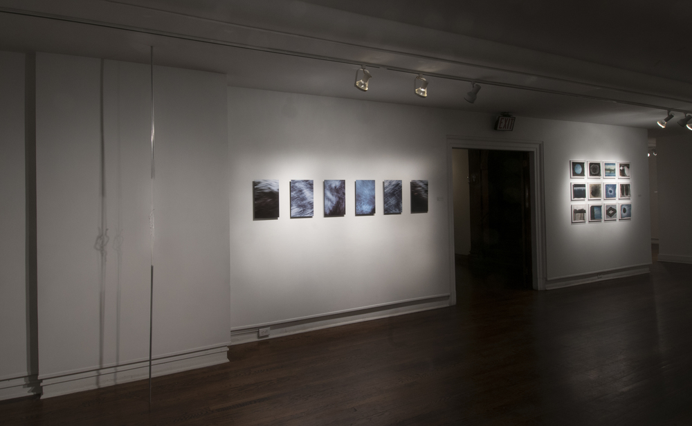 L:  Jessica Jane Julius   Breach part I   C:  Sharyn O'Mara   Untitled (Chiara #1 - #6)   R:  Megan Biddle   Drift and Drag