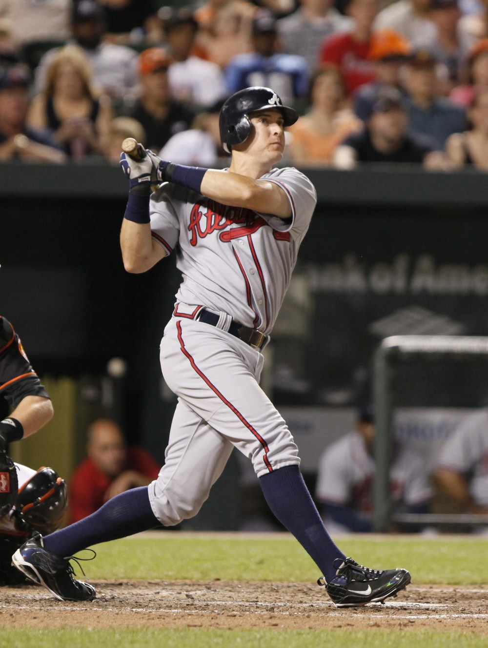 Kelly Johnson on the Braves