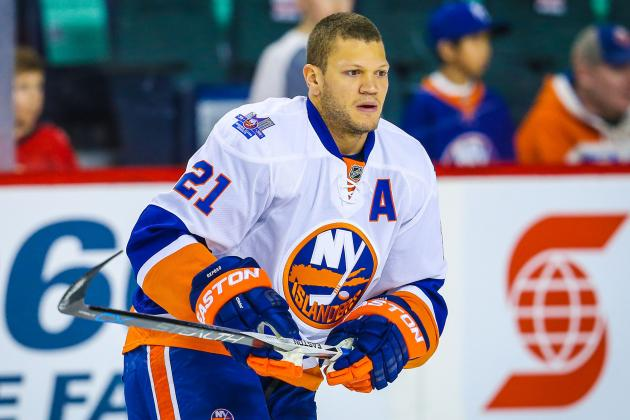 28-year old Kyle Okposo left the Isles for the Sabres for a 7-year deal