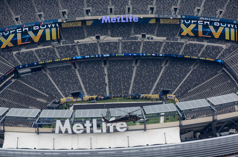 MetLife prepares for the most expensive Super Bowl of all-time (2014)