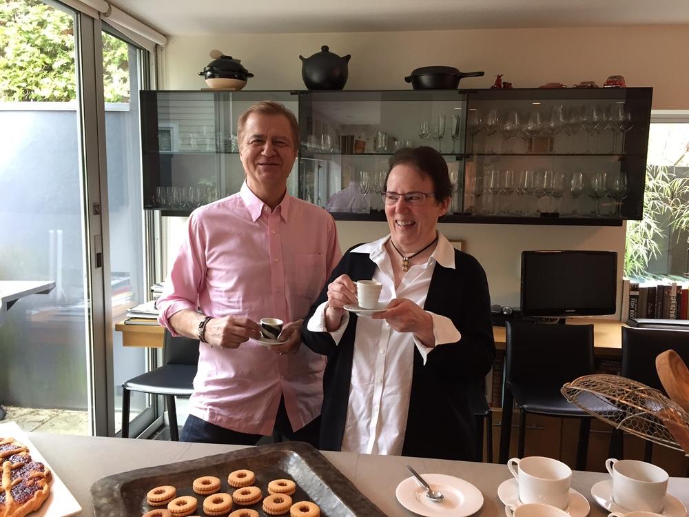 Clark e Linda- Coffee Workshop.JPG