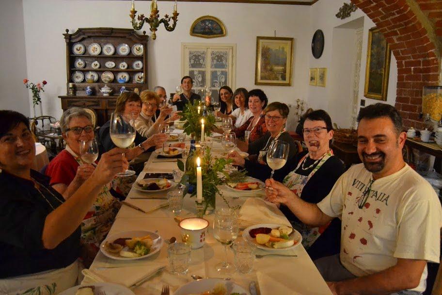 Cena dopo il corso di cucina.JPG