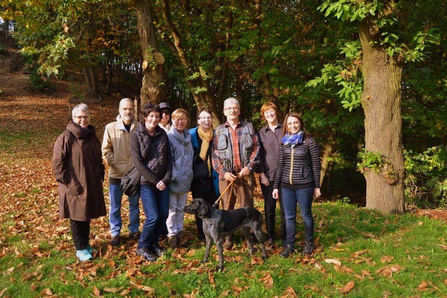 Il nostro gruppo con il trifulau.JPG
