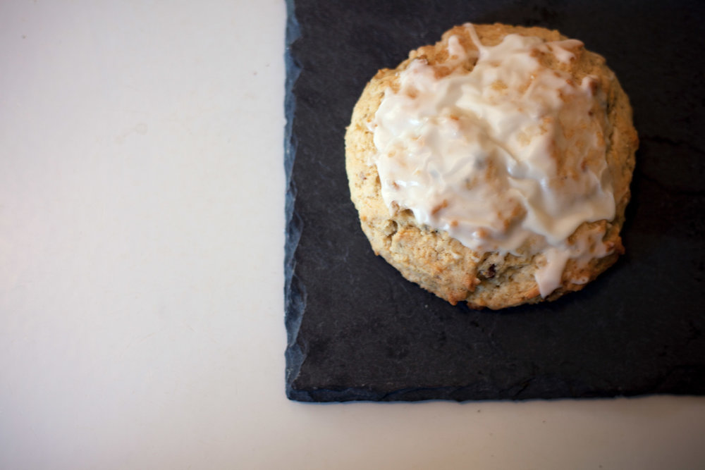 Spring Time Scone with roasted pistachios and lavender glaze.jpg