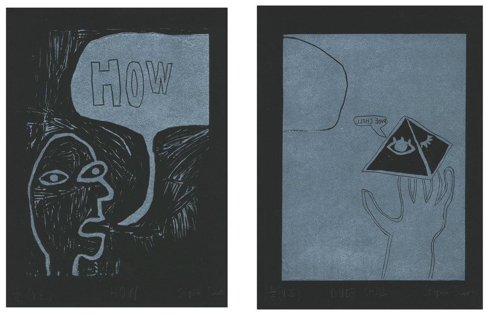HOW / DUDE CHILL - Stephen Stewart