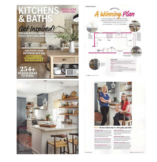 A Qanūk Interiors kitchen featured in House & Home's Kitchens & Baths 2013 Special Issue. On news stands from Aug. 10th to Dec. 31st 2013  For a more in depth look of this galley kitchen, check out the exclusive online  video .   Text by: Katie Gougeon Photography by: Donna Griffith Styling by: Margot Austin and Qanūk