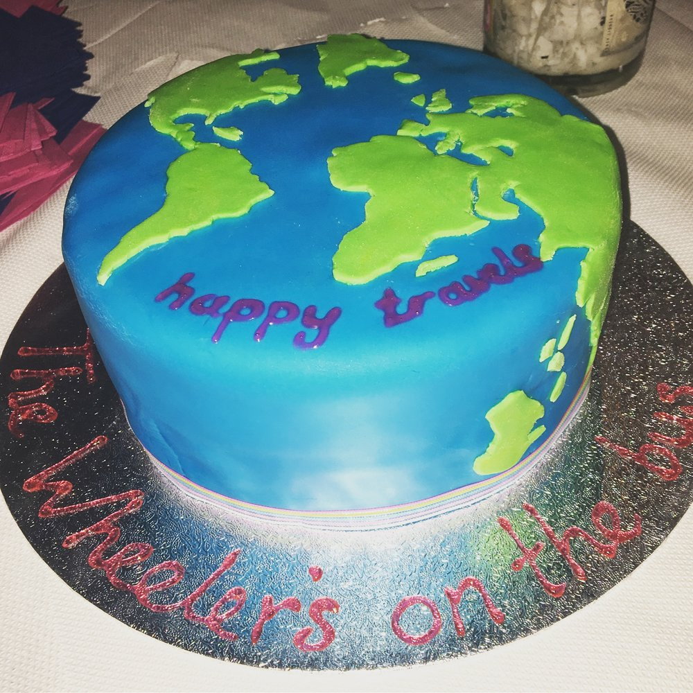 Our beautiful cake.