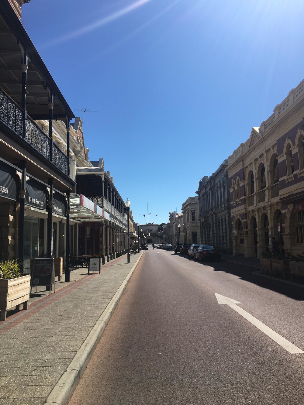 Fremantle High Street.