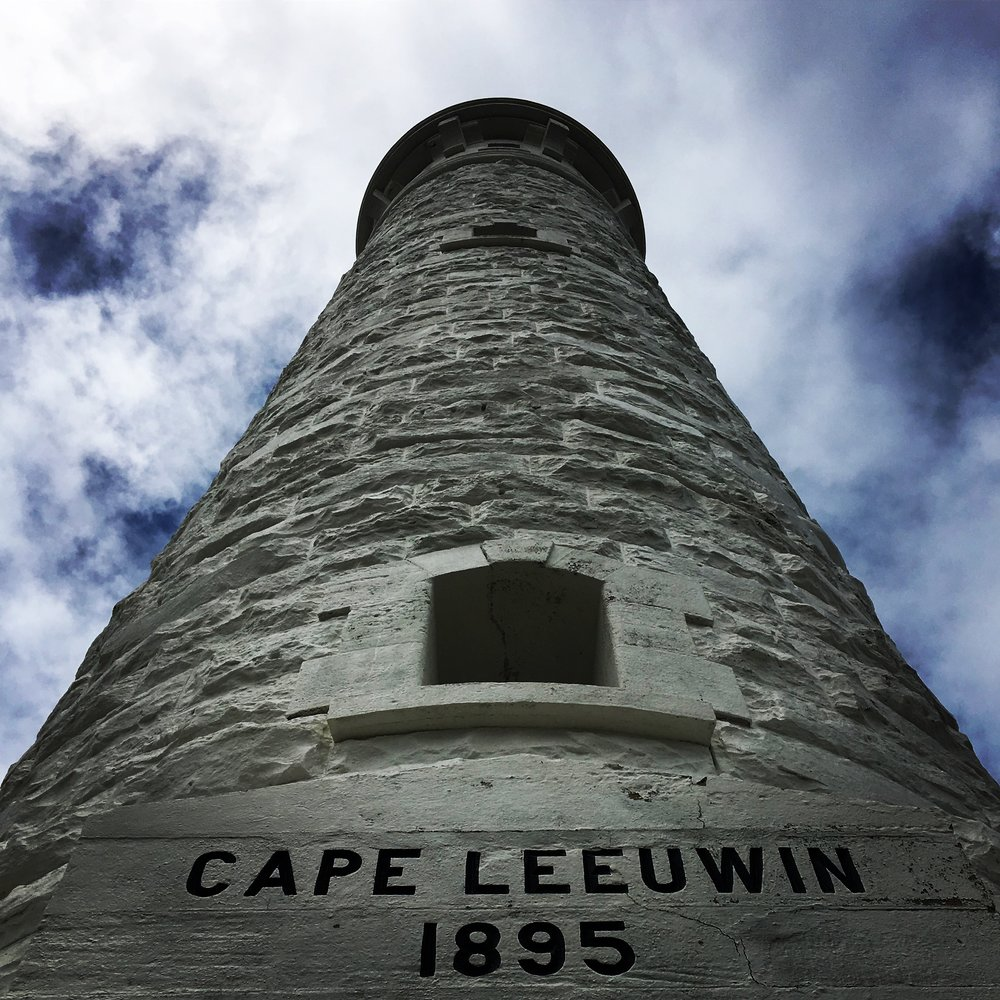 Cape Leeuwin Lighthouse marks the union of Indian Ocean and the Southern Ocean.
