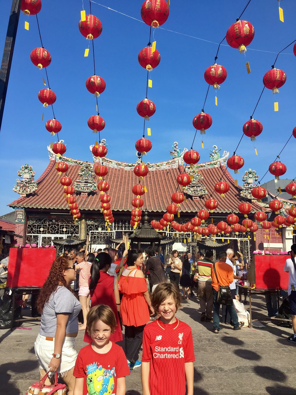 We went out in search of Chinese New Year festivities and found bright, loud craziness!