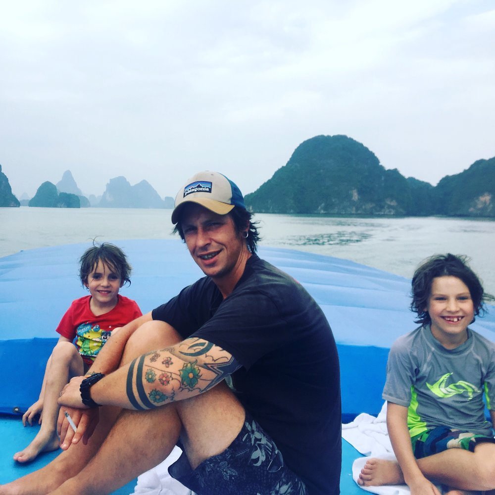 On the 'James Bond' island boat trip. (See review below)