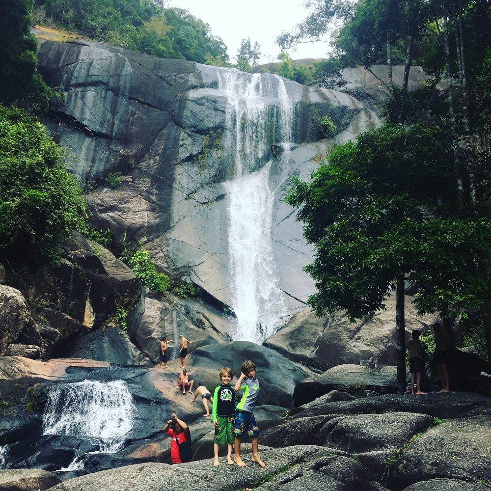 Seven Wells waterfall, Malaysia.