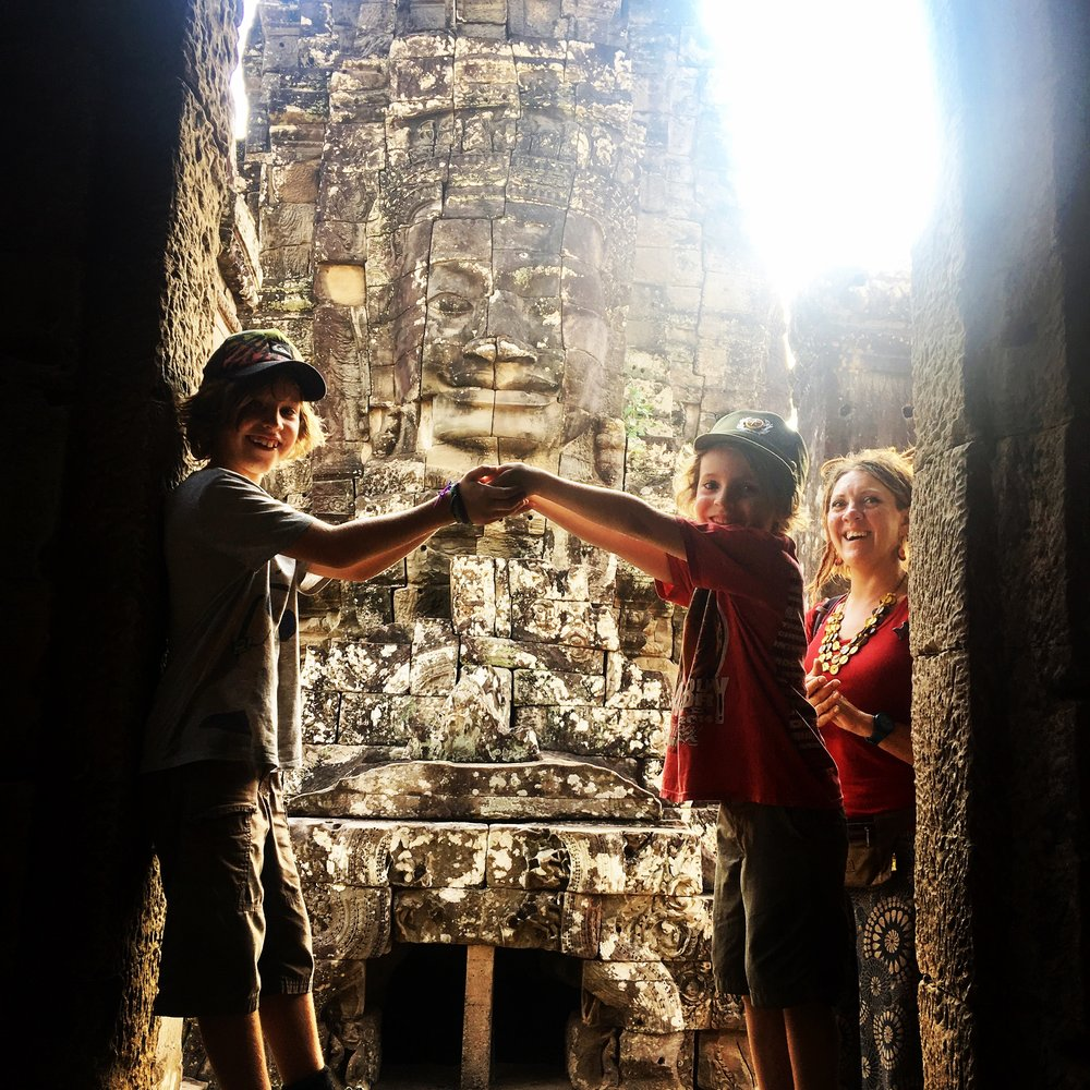 The temple at Bayon