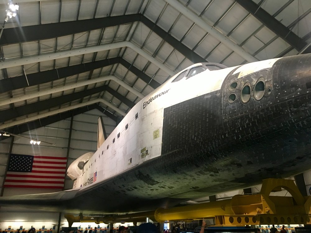 The Endeavor, Los Angeles Science Centre.