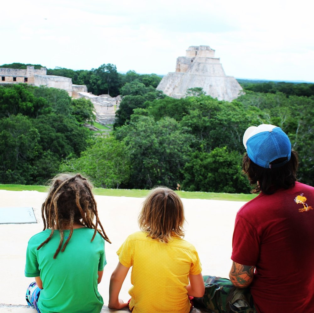 The Mayan ruins of Uxmal (Oosh-mal)
